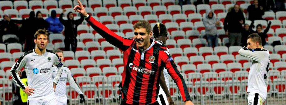 Après son retour gagnant contre Krasnodar, Maxime Le Marchand devrait être titulaire face à Bordeaux en coupe de la Ligue, mercredi soir.