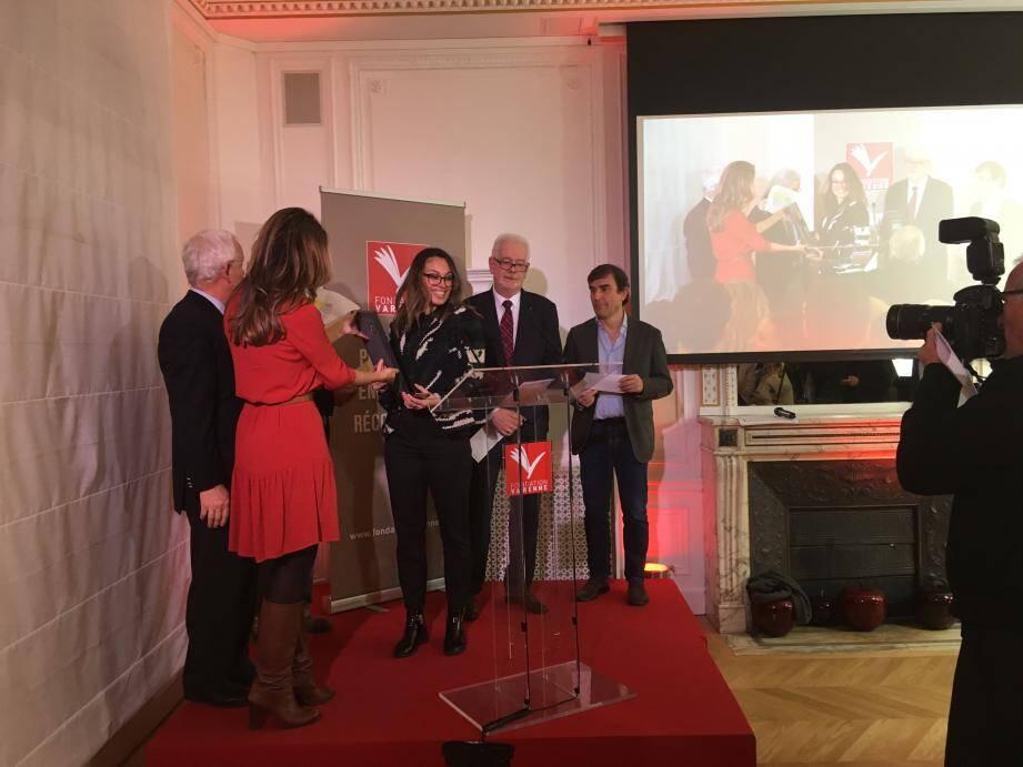 La jeune journaliste a remporté un prix pour son article sur la vie après l'attentat de Nice.