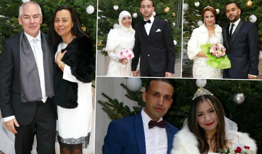 Ils se sont mariés ce week-end à Nice.