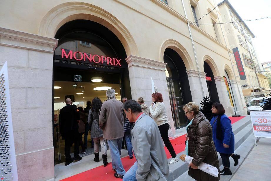 En 2017, les Monoprix (ici celui de Toulon) pourront ouvrir après 21 heures.
