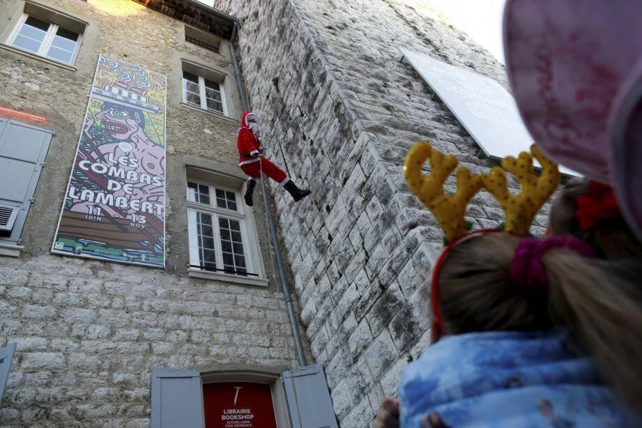Le Père Noël à Vence