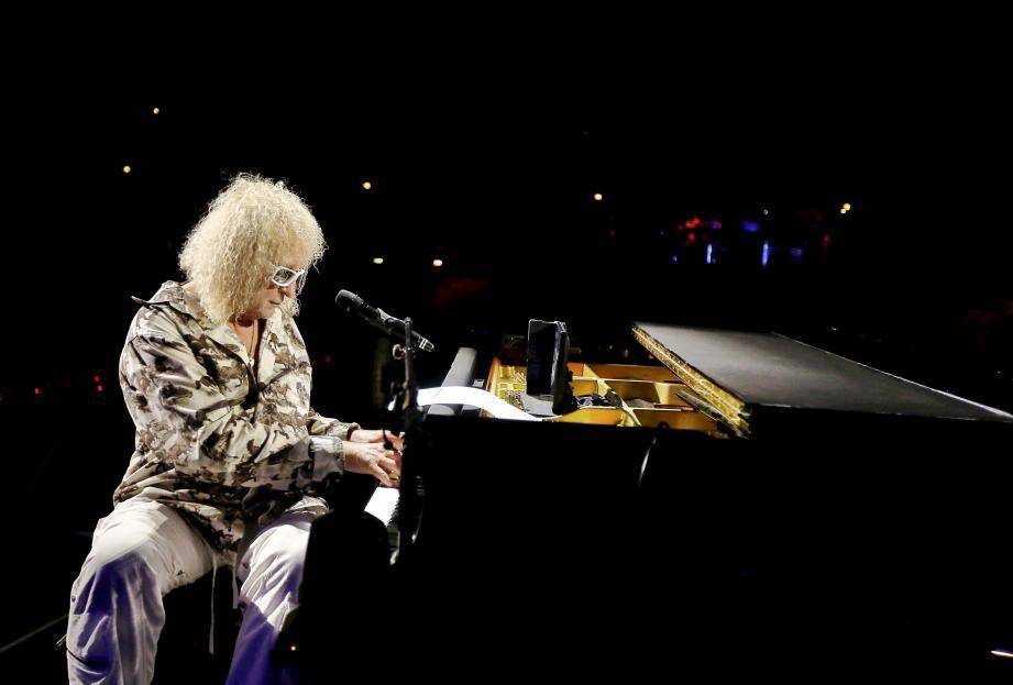 Michel Polnareff lors de son  concert à Nice, en novembre dernier