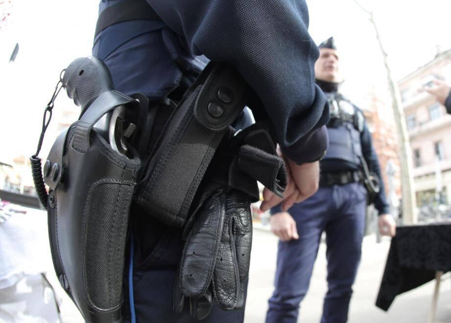 Des policiers en faction (illustration).