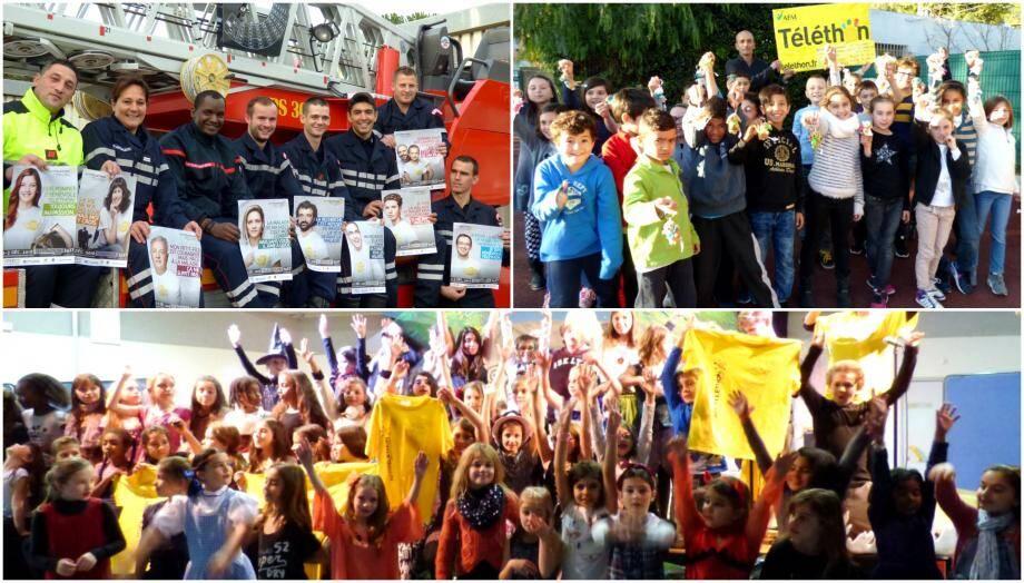 Mobilisation de rigueur pour pour la 30 ème édition du Télethon à Draguignan