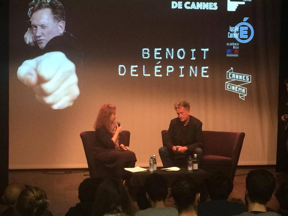 Benoit Delépine (alias l'inénarrable Michael Kael dans l'émission satirique Groland sur Canal Plus)