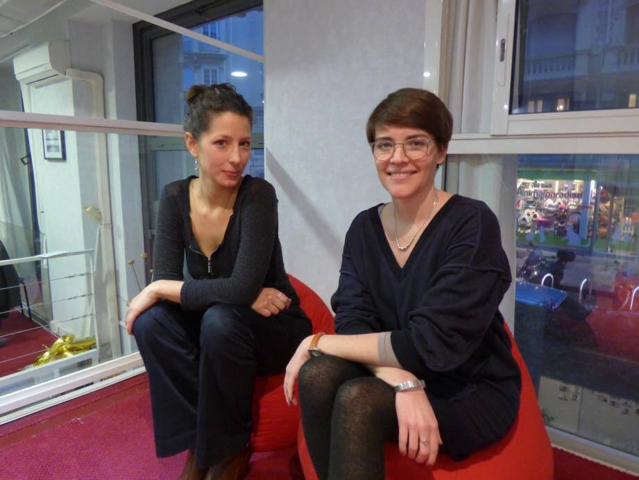 Marianne Petit, cofondatrice du collectif La Ruche Nice, et Sophie Vannier, cofondatrice et directrice générale de La Social Factory, l'incubateur de La Ruche.