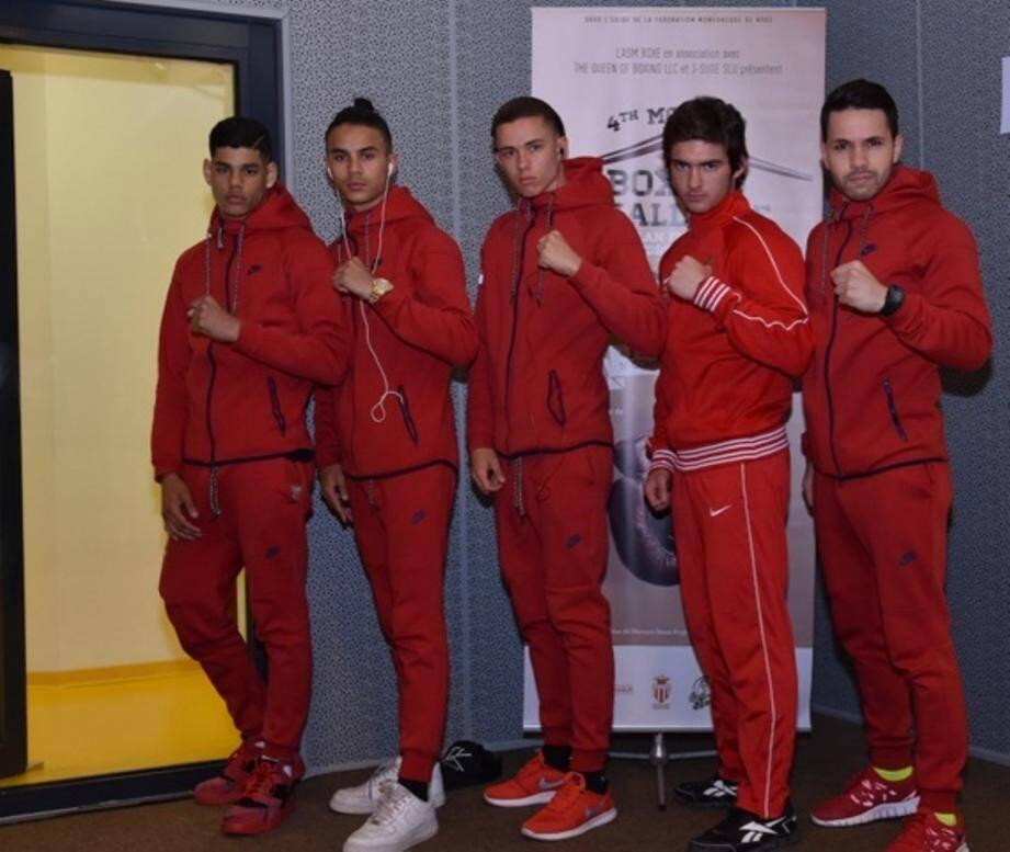 L'écurie de l'ASM sera à l'honneur au cours de cette 6e édition du Monaco Boxing Challenge.