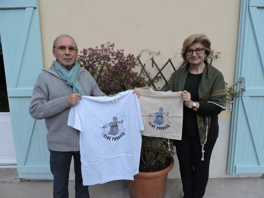 Denise Goss et Claude Boursin, le Ciné-Paradis au cœur.