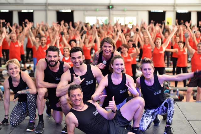 Les coaches du Club 88 et de Top Fitness ont su insuffler leur dynamisme à la centaine de participants présents.