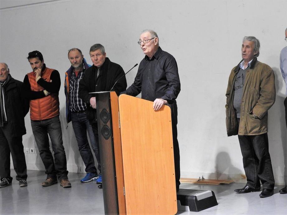 Le maire a rappelé les travaux de rénovation du village effectués en 2016.