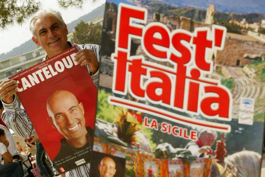 2006 : l'âge d'or d'Azzurra. À l'occasion d'une édition consacrée à la Sicile, l'association avait programmé un spectacle du célèbre humoriste Nicolas Canteloup. Une prouesse couronnée de succès.