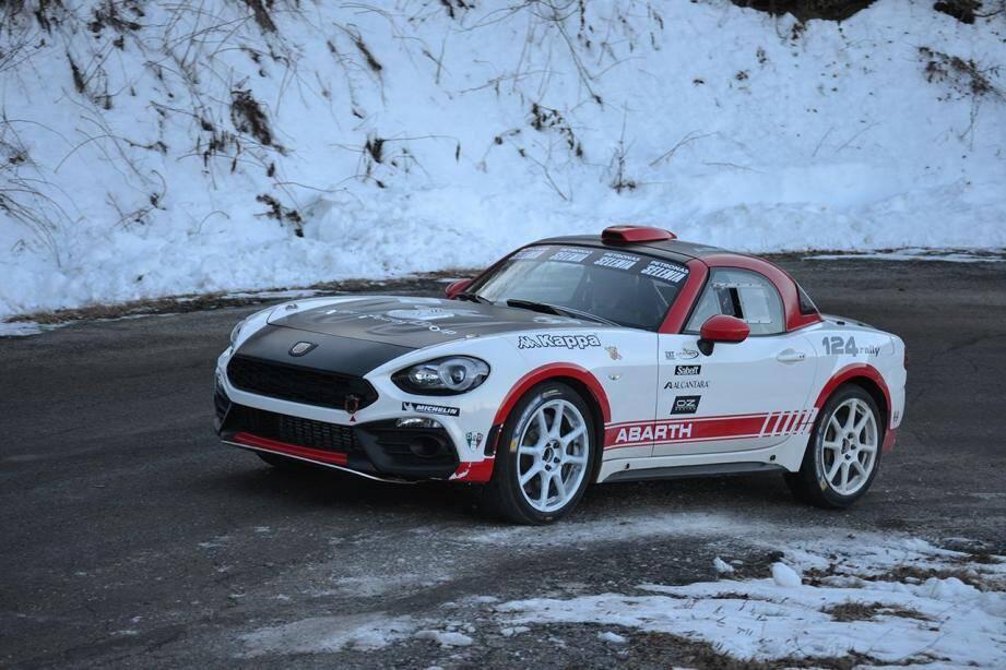 Tombé sous le charme de l'Abarth 124 Rally, François Delecour va-t-il réussir un retour gagnant dans la catégorie R-GT ?