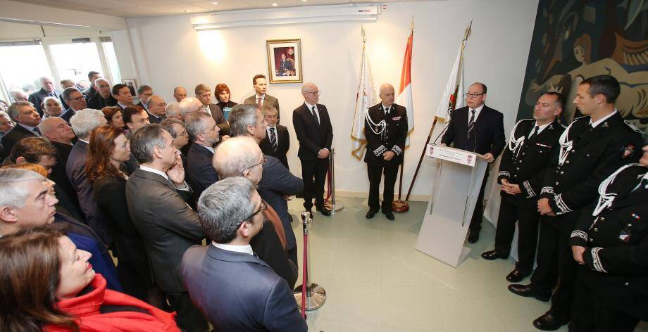 Le prince Albert II et Richard Marangoni ont aussi évoqué les attentats commis en 2016.