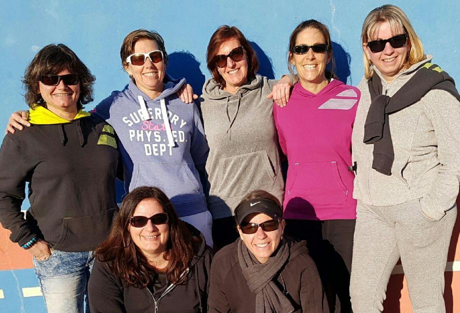 Les filles de l'ASPTT Draguignan de divsion 1.