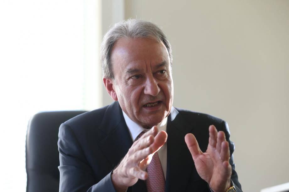 Patrick Cesari, maire de Roquebrune-Cap-Martin.