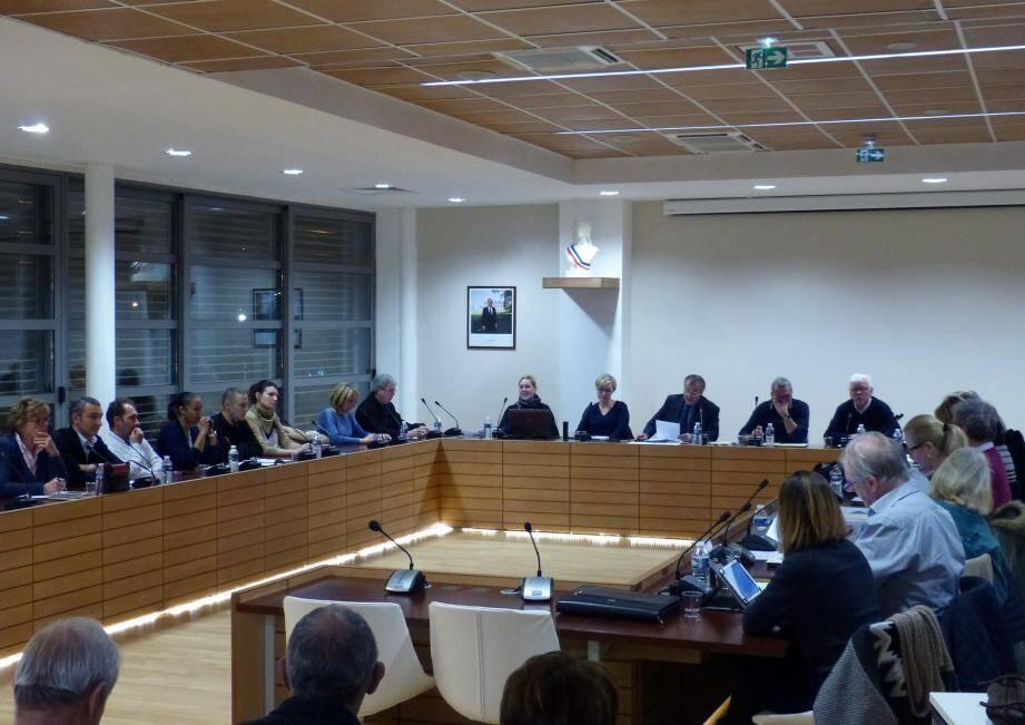 Autour du maire, Philippe Leonelli, les élus du conseil municipal ont refusé de faire glisser dans le giron intercommunal l'office de tourisme et la gestion du PLU.(DR)