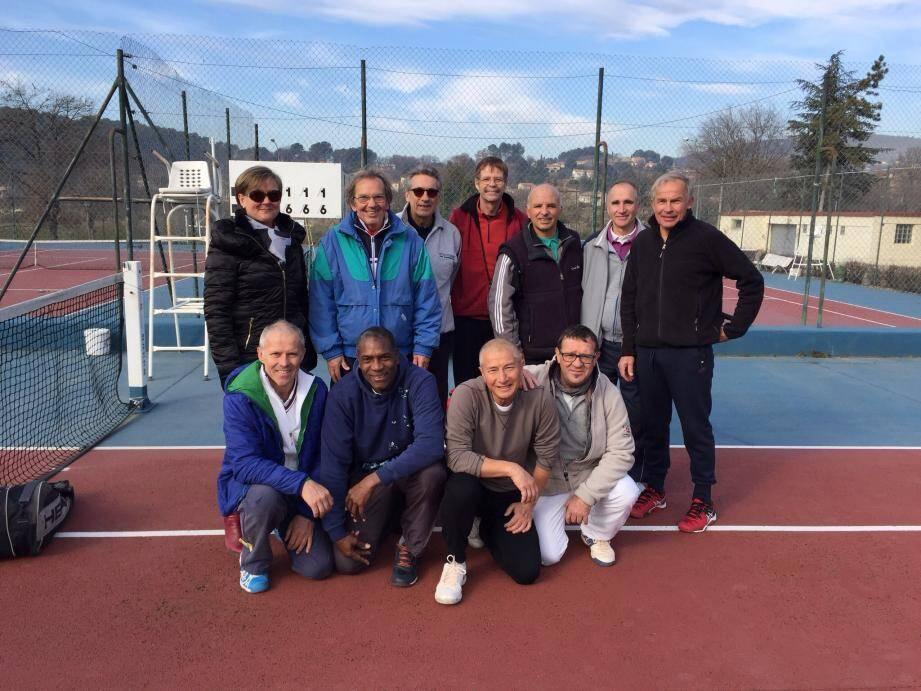 Les représentants du TCD vainqueurs de Val d'Issole en coupe Caren.