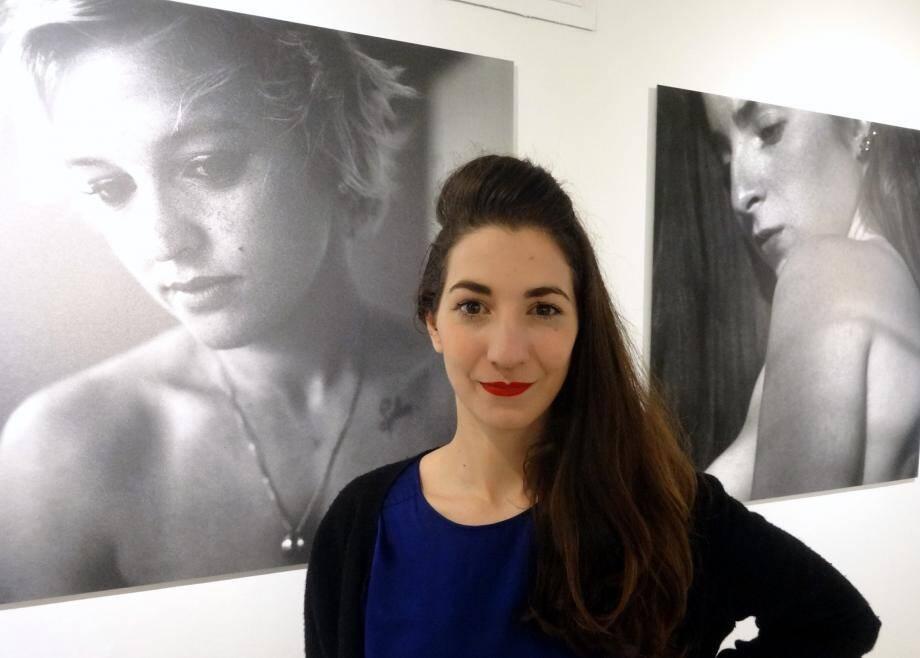 La photographe Pauline Rousseau, nominée pour le prix Madame Figaro, expose à la Galerie G. de la cité du Rocher.