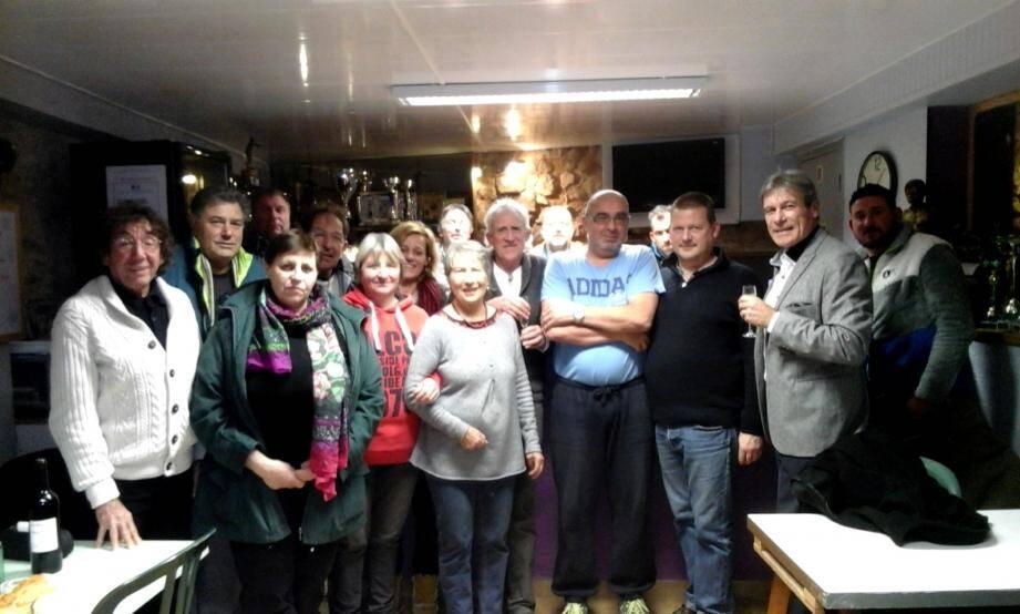 Du beau monde pour le concours et la galette des Rois à l'AB Saint-Cézaire organisés dernièrement.(DR )