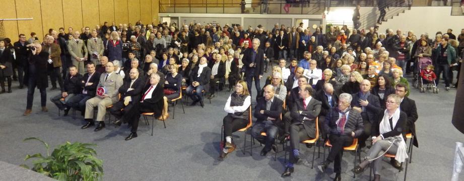 Autorités civiles et militaires, élus de la Dracénie et Figaniérois venus en nombre pour la cérémonie traditionnelle.
