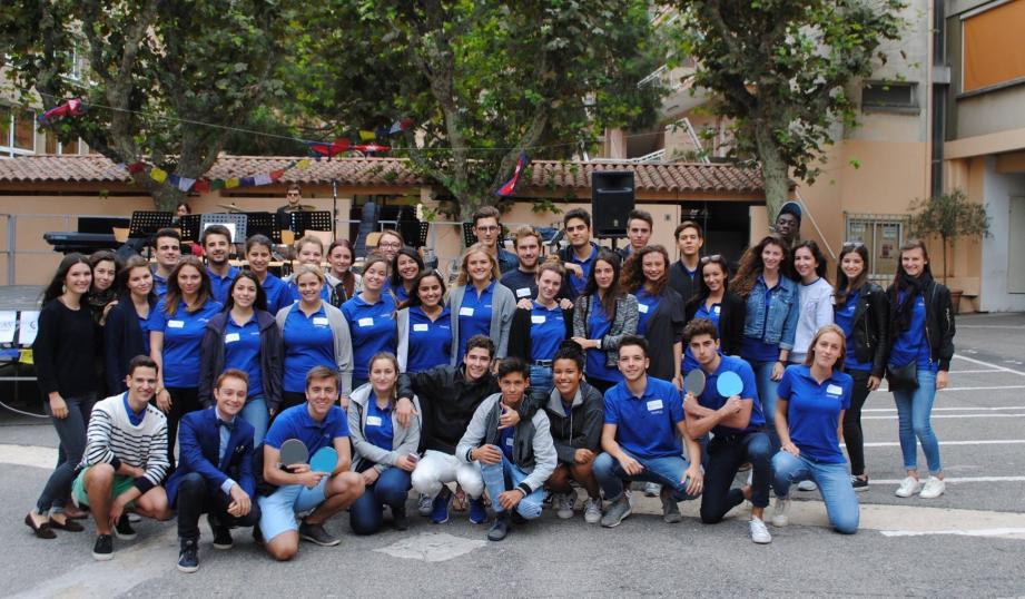 Les étudiants de l'Institut Stanislas, après une première expérience réussie sur un an, viennent de désigner la nouvelle équipe avec de nouveaux projets.(DR)