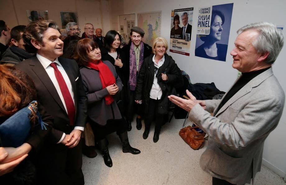 Patrick Mottard a présenté ses vœux aux adhérents azuréens du Parti radical de gauche.