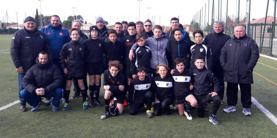 Les jeunes rugbymen U14 du département rêvent de qualifier les couleurs de leur club à Paris, en faisant briller leur technique individuelle.