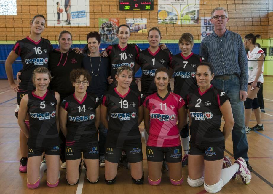Le 4 février l'équipe pré-nationale rencontrera le pays de Grasse au gymnase Victor.