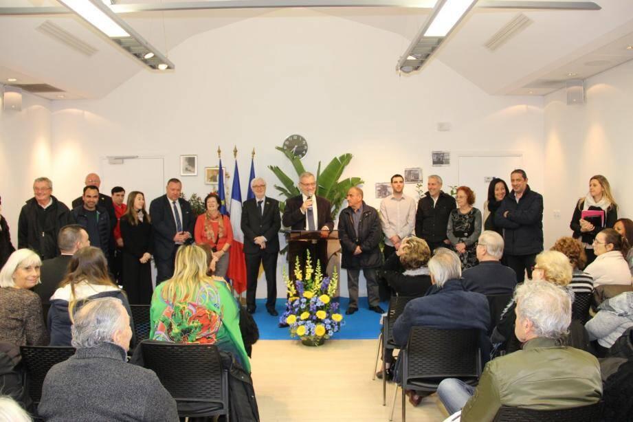 Le maire et l'équipe municipale ont présenté leurs vœux aux habitants du quartier des Moneghetti.