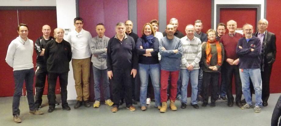Les représentants des clubs varois étaient réunis à Figanières.