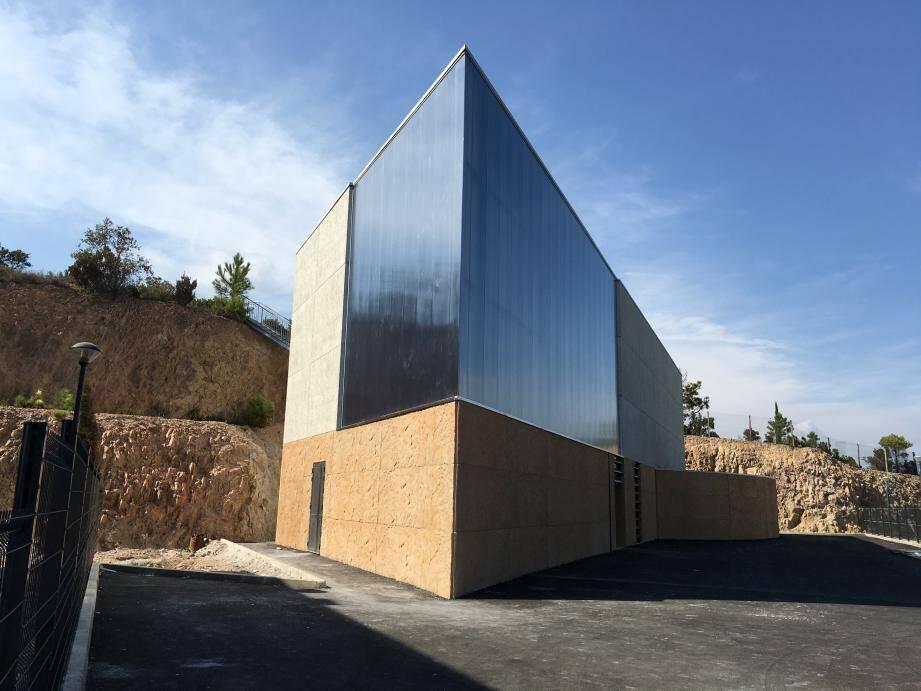 Le nouveau temple de Saint-Raphaël qui sera inauguré samedi.