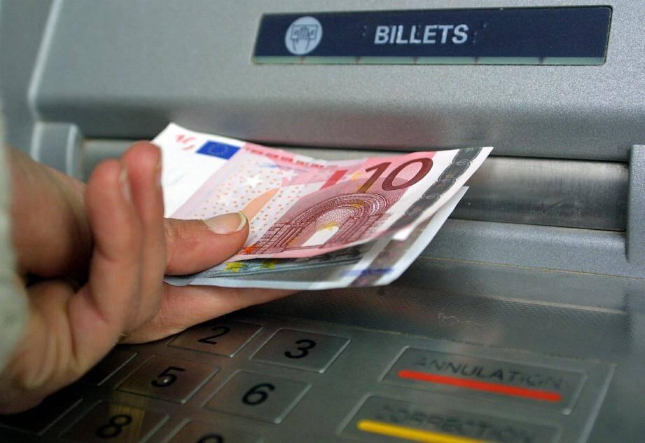 Illustration d'un distributeur de billets.