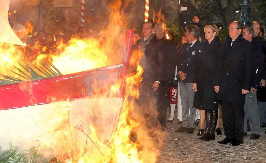 La fête de la Sainte Dévote à Monaco