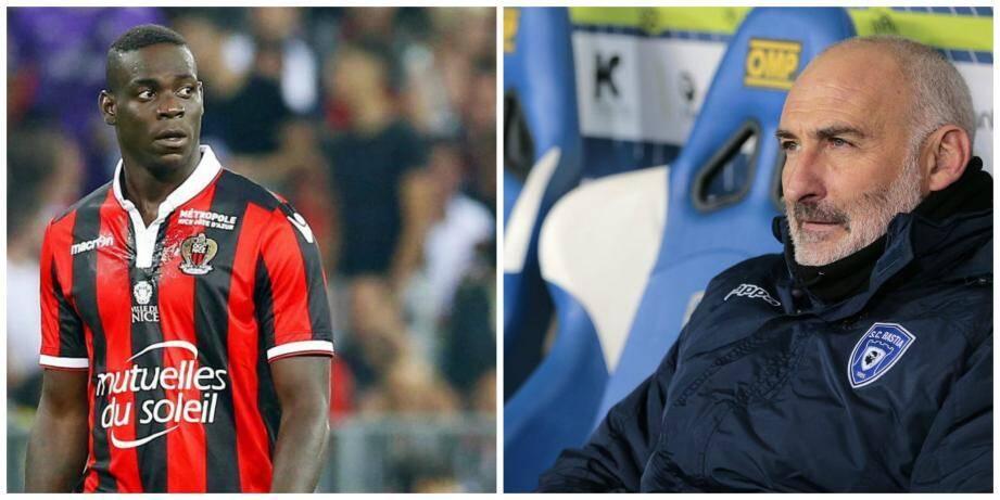 Mario Balotelli et François Ciccolini.
