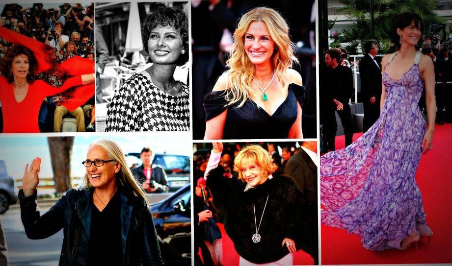 Sophie Marceau, Julia Roberts, Jeanne Moreau, Jane Campion..., ces femmes qui font briller le tapis rouge du Festival de Cannes