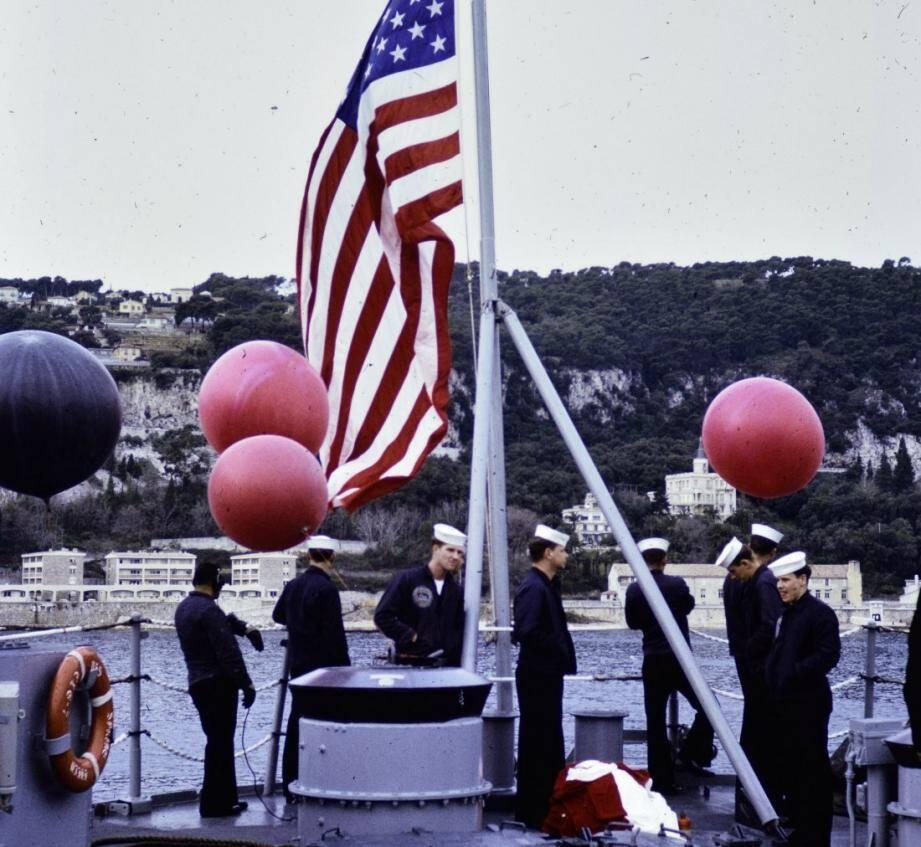 La 6e flotte américaine à Villefranche.