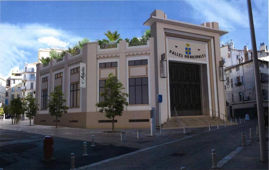 Les Halles seront transformées en un hôtel cinq étoiles