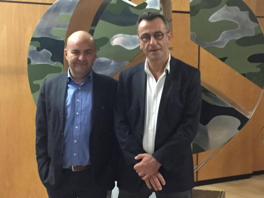 Eric Anton et Xavier Gesnouin : « L'international est un virus qui apporte beaucoup. »