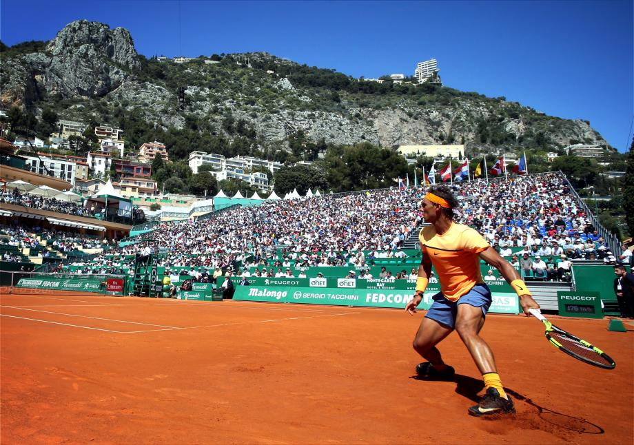 Rafael Nadal au Rolex Monte-Carlo.