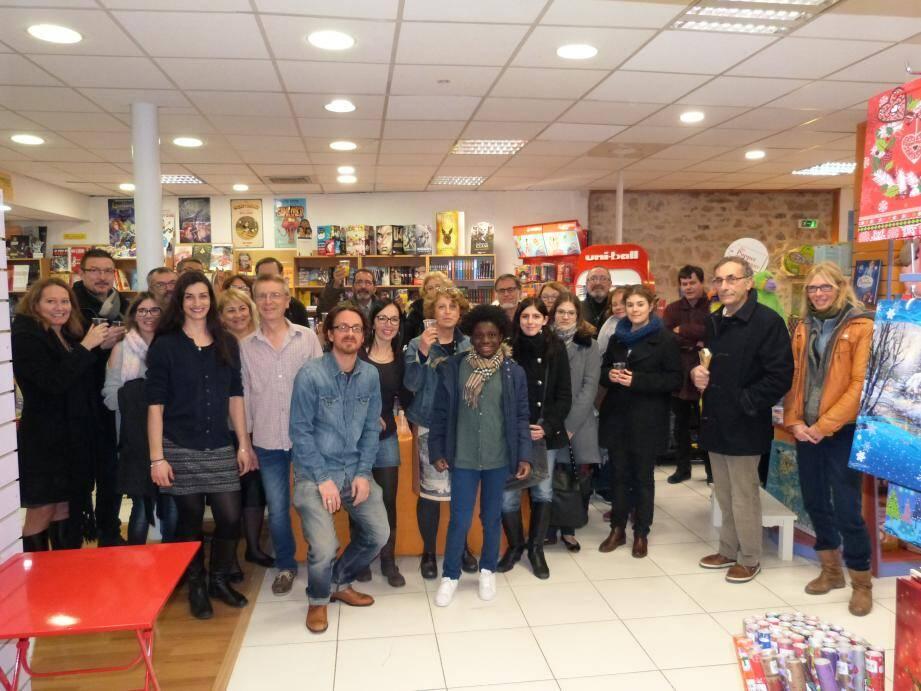La librairie Lo Païs à l'heure des remerciements