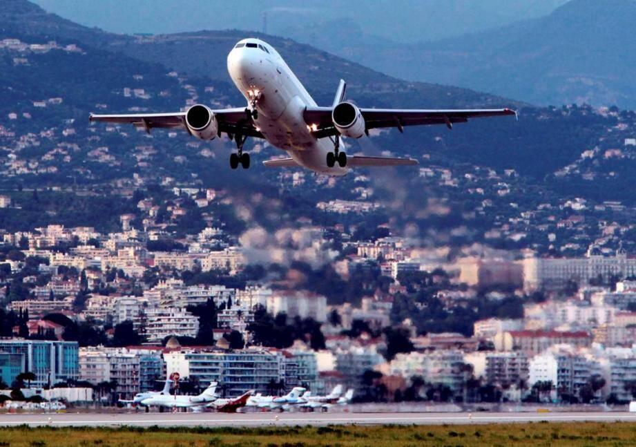 Image d'illustration de l'aéroport de Nice.