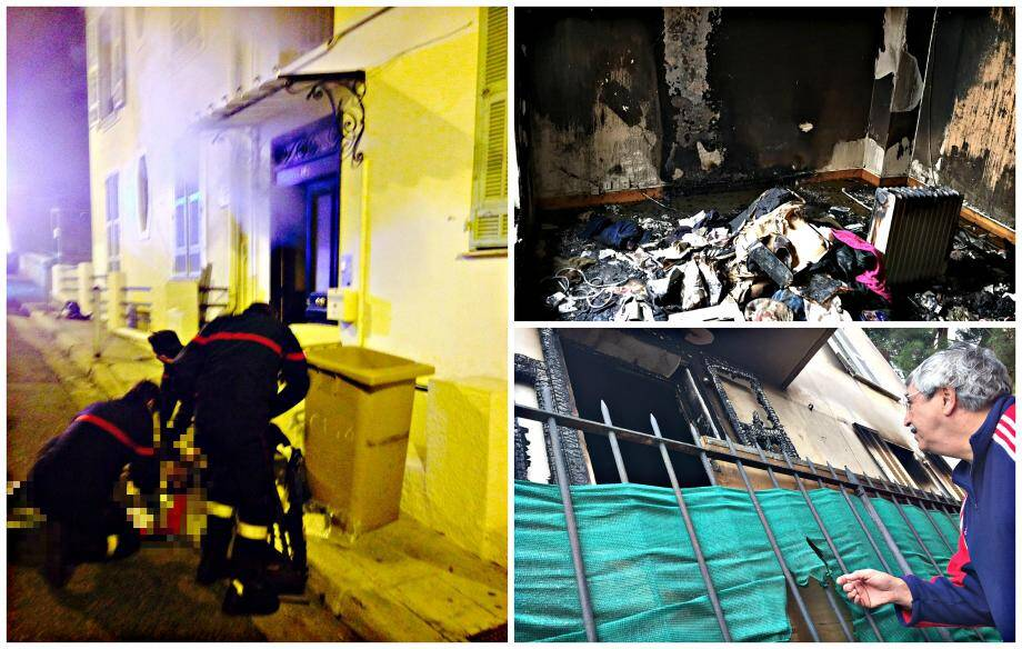 Les efforts des sapeurs-pompiers pour réanimer la victime ont été vains. Sa chambre a été entièrement calcinée.