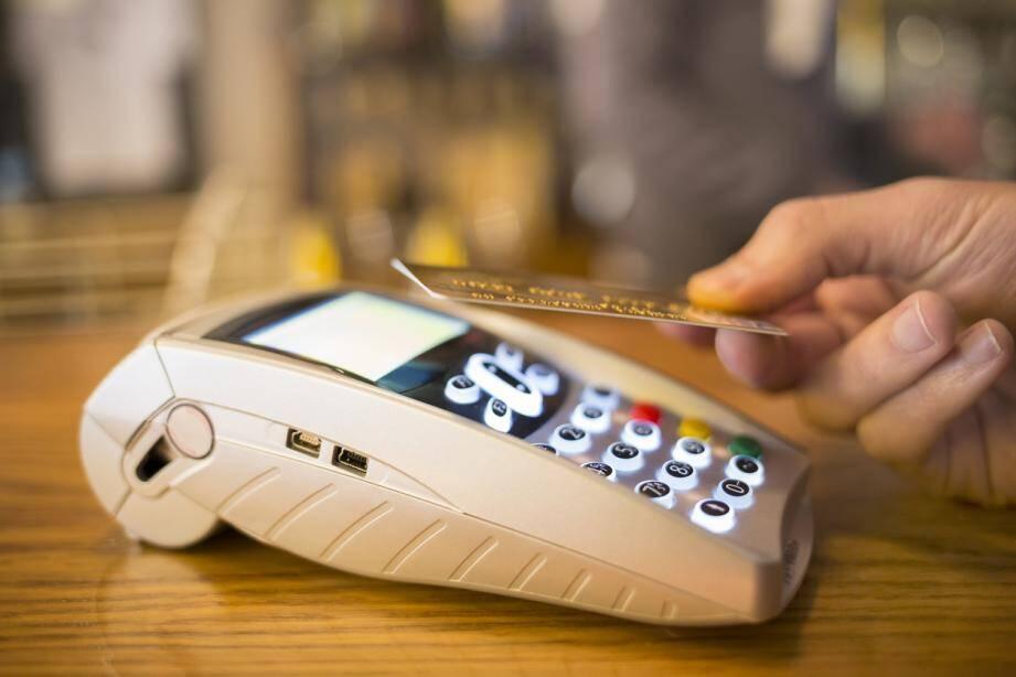 Illustration de paiement sans contact.