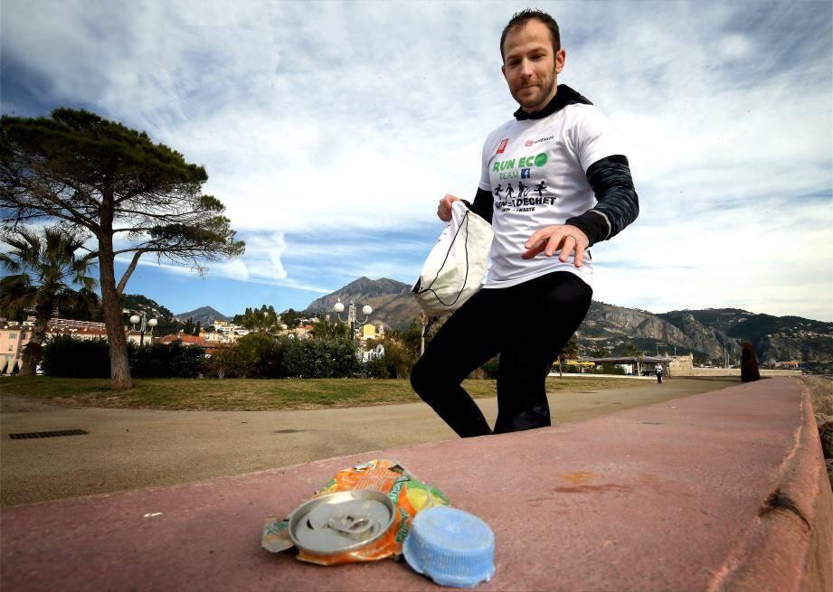 Sébastien Uscher est l'ambassadeur dans le Sud-Est et à Monaco de Run Eco Team.