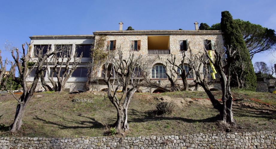 Notre-Dame-de-Vie, à Mougins, où a vécu et est décédé Picasso.
