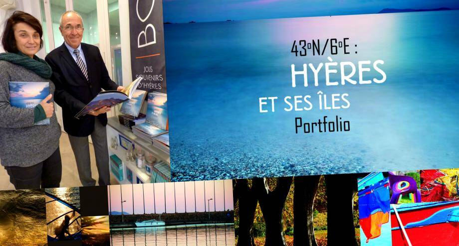 Le portfolio  43°N / 6°E: Hyères et ses îles est à découvrir à l'office du tourisme de Hyères