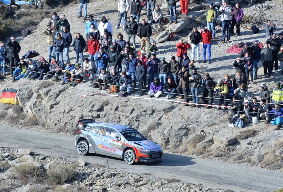 Quatre journées d'épreuves spéciales sont au programme du Rallye de Monte-Carlo.