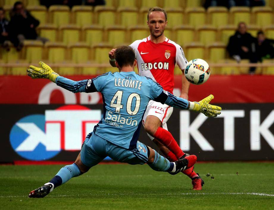Valère Germain ce dimanche contre Lorient.