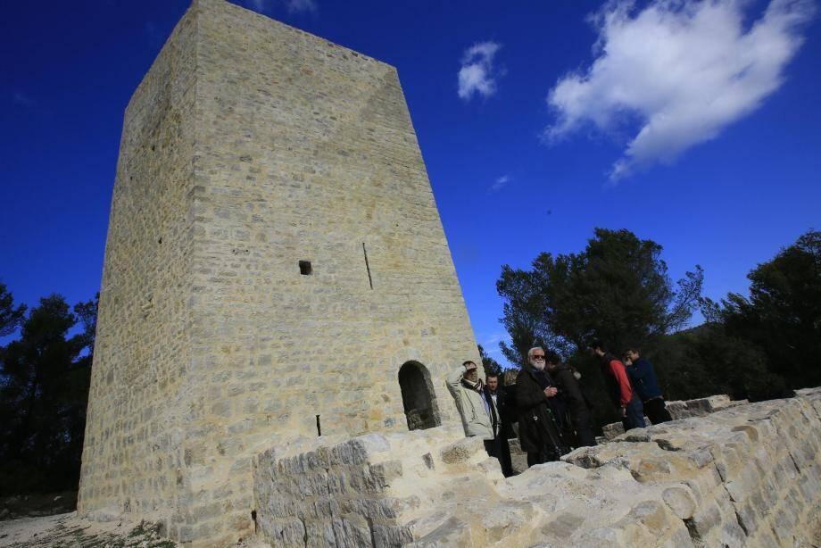 La tour a été inaugurée