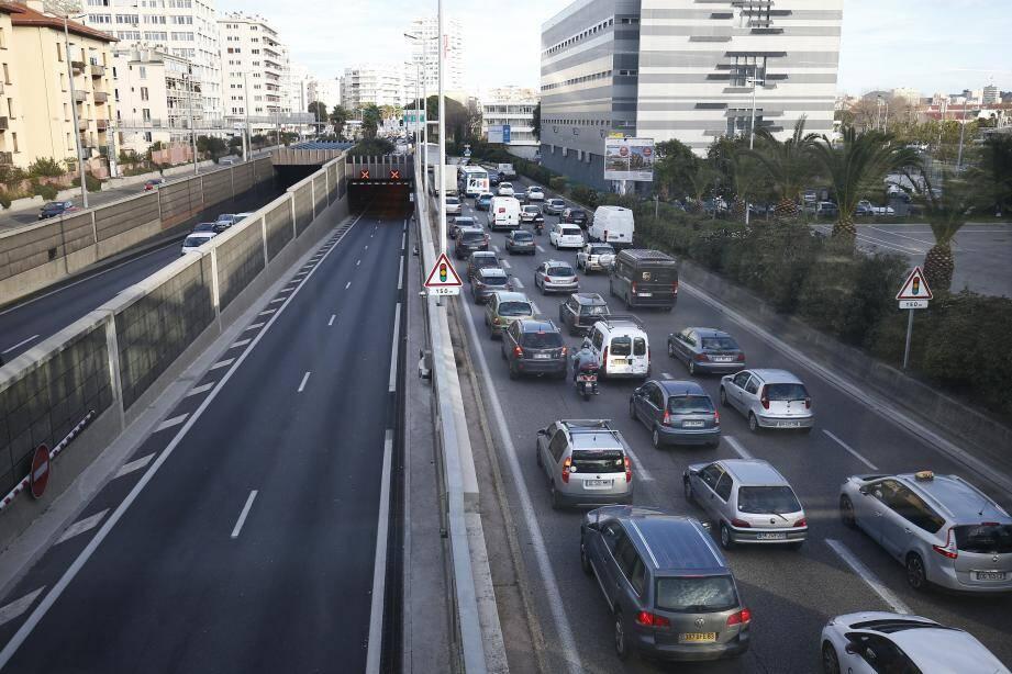 Le tube sud du tunnel de Toulon